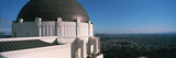 Observatory with Cityscape in the Background, Griffith Park Observatory, Los Angeles, California... Photographic Print by  Panoramic Images