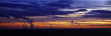 Coal-Fired Power Stations at Sunset, Drax Power Station, Eggborough Power Station, Ferrybridge P... Photographic Print by  Panoramic Images