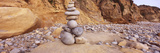 Stone Sculpture on the Beach, San Mateo County, California, USA Photographic Print by  Panoramic Images