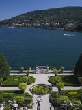 High Angle View of a Garden, Palazzo Borromeo, Isola Bella, Borromean Islands, Stresa, Lake Magg... Photographic Print by Green Light Collection
