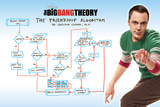 Big Bang Theory - Friendship Algorithm Kunstdruck