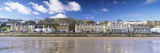Promenade Along a Town at the Waterfront, Filey, North Yorkshire, England Photographic Print by  Panoramic Images