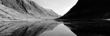 Reflection of Mountains in a Lake, Loch Achtriochtan, Glencoe, Highlands Region, Scotland Photographic Print by  Panoramic Images