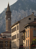 Basilica in a Town, Basilica San Nicolo, Lecco, Lake Como, Lakes Region, Lombardy, Italy Photographic Print by  Green Light Collection
