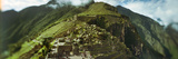 High Angle View of an Archaeological Site, Inca Ruins, Machu Picchu, Cusco Region, Peru Photographic Print by  Panoramic Images