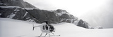 Helicopter on a Glacier, Milford Sound, Fjordland National Park, South Island, New Zealand Photographic Print by  Panoramic Images