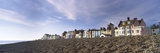 Houses on the Beach, Shingle Beach, Aldeburgh, Suffolk, England Photographic Print by  Panoramic Images