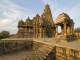 Staircase in a Temple, Khajuraho, Chhatarpur District, Madhya Pradesh, India Photographic Print by  Green Light Collection