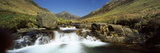 Waterfall in a Valley, Glen Rosa, Isle of Arran, Firth of Clyde, Scotland Photographic Print by  Panoramic Images