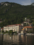 Hotel at the Lakeside, Grand Hotel Menaggio, Menaggio, Lake Como, Lakes Region, Lombardy, Italy Photographic Print by Green Light Collection