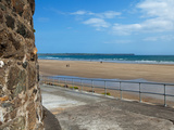 The Strand in Tramore, County Waterford, Ireland Photographic Print