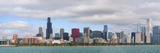 City at the Waterfront, Lake Michigan, Chicago, Cook County, Illinois, USA 2010 Photographic Print by  Panoramic Images