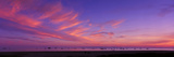 Sea at Sunset, Santa Barbara, California, USA Photographic Print by  Panoramic Images