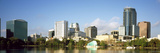 Buildings at the Waterfront, Lake Eola, Orlando, Orange County, Florida, USA 2010 Photographic Print by  Panoramic Images
