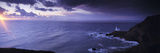 Lighthouse on the Coast, Hartland Point, North Devon, Devon, England Photographic Print by  Panoramic Images
