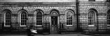 Man Walking in Front of a Library, Signet Library, Parliament Square, Edinburgh, Scotland Photographic Print by Panoramic Images