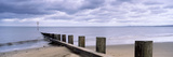 Jetty on the Beach, Portobello, Edinburgh, Scotland Photographic Print by  Panoramic Images