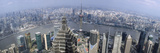 Cityscape with River Viewed from Jin Mao Tower, Huangpu River, Pudong, Shanghai, China 2010 Photographic Print by  Panoramic Images