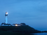 Lighthouse at the Coast, Pigeon Point Lighthouse, San Mateo County, California, USA Photographic Print by  Panoramic Images