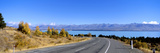 Road at the Lakeside, Lake Pukaki, South Island, New Zealand Photographic Print by  Panoramic Images