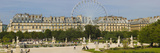 Tourists in a Garden, Jardin De Tuileries, Paris, Ile-De-France, France Photographic Print by Panoramic Images 