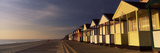 Beach Huts in a Row, Southwold, Waveney, Suffolk, England Papier Photo par  Panoramic Images