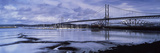 Bridges across a River, Firth of Forth Road Bridge, Firth of Forth Rail Bridge, Firth of Forth, ... Photographic Print by  Panoramic Images
