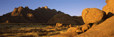 Rock Formations in a Desert, Spitzkoppe, Namib Desert, Namibia Photographic Print by  Panoramic Images