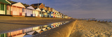 Beach Huts in a Row, Southwold, Waveney, Suffolk, England Photographic Print by  Panoramic Images