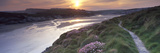 River Flowing at Sunset, Porth, Newquay, Cornwall, England Photographic Print by  Panoramic Images