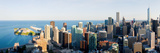 Buildings in a City, Chicago, Cook County, Illinois, USA 2010 Photographic Print by  Panoramic Images