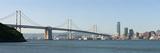 Suspension Bridge across a Bay, Bay Bridge, San Francisco Bay, San Francisco, California, USA 2010 Photographic Print by  Panoramic Images