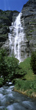 Waterfall in a Forest, Murrenbach Falls, Lauterbrunnen Valley, Bernese Oberland, Berne Canton, S... Photographic Print by  Panoramic Images