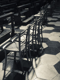 Interior Seating in Cathedral, Como Cathedral, Como, Lakes Region, Lombardy, Italy Photographic Print by Green Light Collection