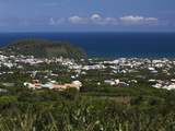 Aerial View of a Town, St. Joseph, Reunion Island Photographic Print by  Green Light Collection