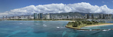 Buildings at the Waterfront, Honolulu, Oahu, Hawaii, USA 2007 Photographic Print by  Panoramic Images