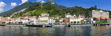 Town at the Waterfront, Tremezzo, Lake Como, Como, Lombardy, Italy Photographic Print by  Panoramic Images