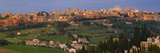 High Angle View of a Cityscape, Orvieto, Umbria, Italy Photographic Print by  Panoramic Images