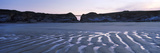 Bridge on Cliffs at Sunset, Porth Beach, Porth, Newquay, Cornwall, England Photographic Print by  Panoramic Images