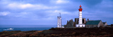 Lighthouse on the Coast, Saint Mathieu Lighthouse, Finistere, Brittany, France Papier Photo par  Panoramic Images