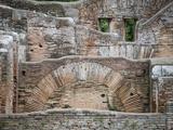 Ruins of Ostia Antica, Rome, Lazio, Italy Photographic Print
