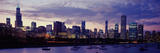 Buildings at the Waterfront, Lake Michigan, Chicago, Illinois, USA Photographic Print by  Panoramic Images