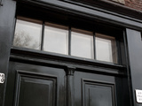 Detail of the Doorway of Anne Frank House, Prinsengracht, Amsterdam, Netherlands Photographic Print