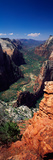 View from Observation Point, Zion National Park, Utah, USA Photographic Print by  Panoramic Images