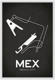 MEX Mexico City Airport Affiches