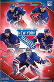 New York Rangers 2013 Group Posters