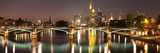 Bridge across a River, Ignatz Bubis Bridge, Main River, Frankfurt, Hesse, Germany Photographic Print by Panoramic Images