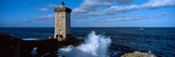 Lighthouse on the Coast, Kermorvan Lighthouse, Le Conquet, Finistere, Brittany, France Photographic Print by  Panoramic Images