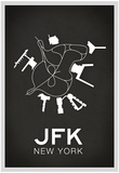 JFK New York Airport Posters