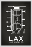 LAX Los Angeles Airport Poster
